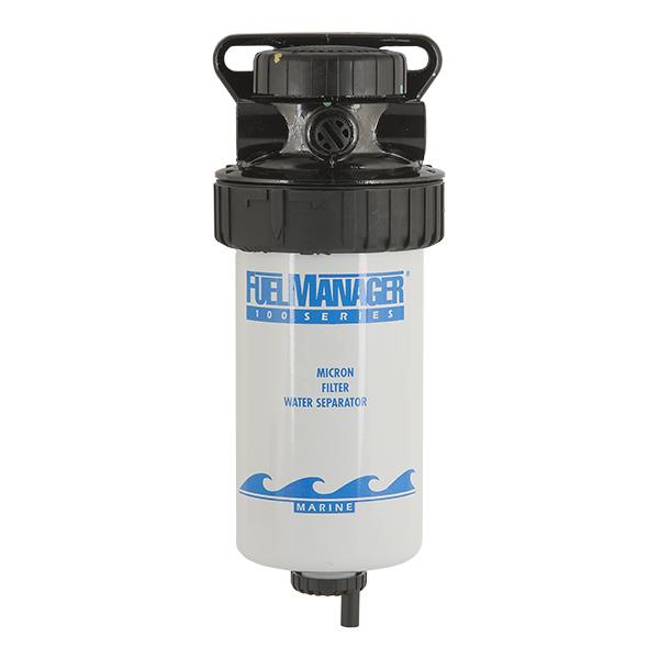 Топливный сепаратор в сборе с эл. топливодкачивающим насосом